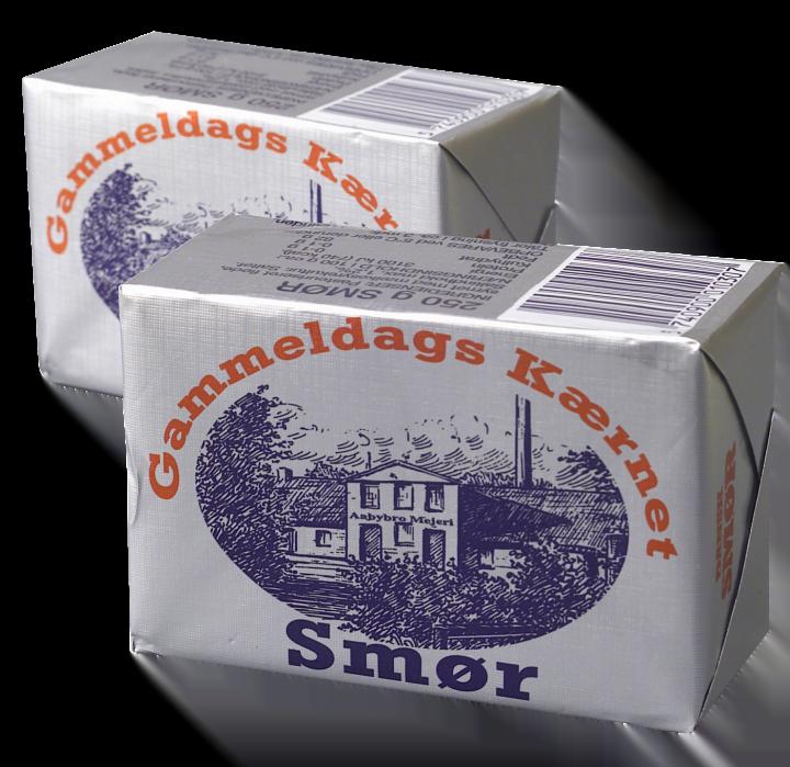 smør 250 gram fri