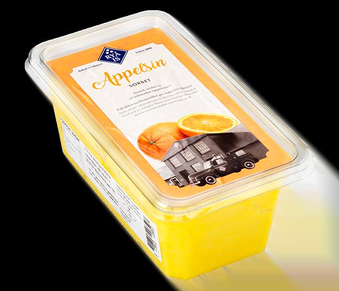 appelsin sorbet